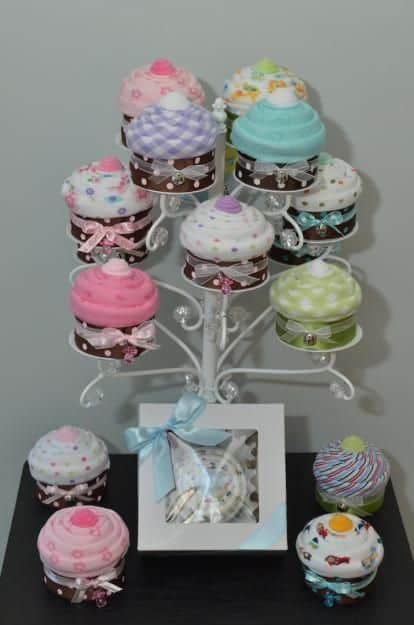 Cupcake Onesies Gift Idea Cupcake Stand