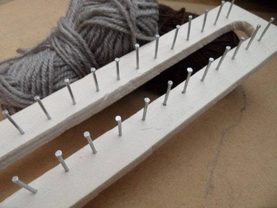 How To Make A Rectangular Knitting Loom