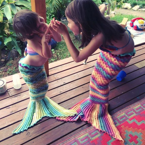 Mermaid Crochet Tail