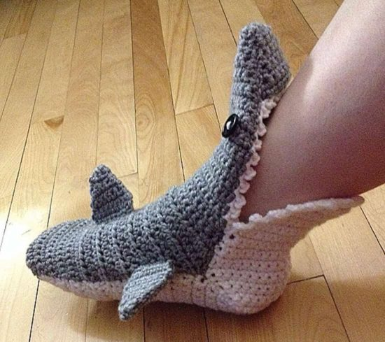 Shark Slippers Made To Order