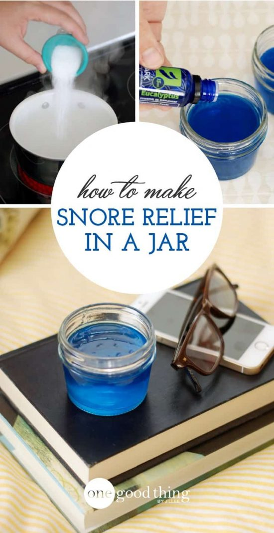 Snore Relief In A Jar