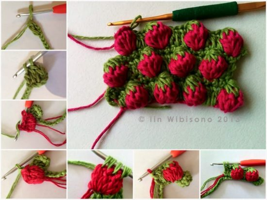 Strawberry Stitch Crochet Pattern