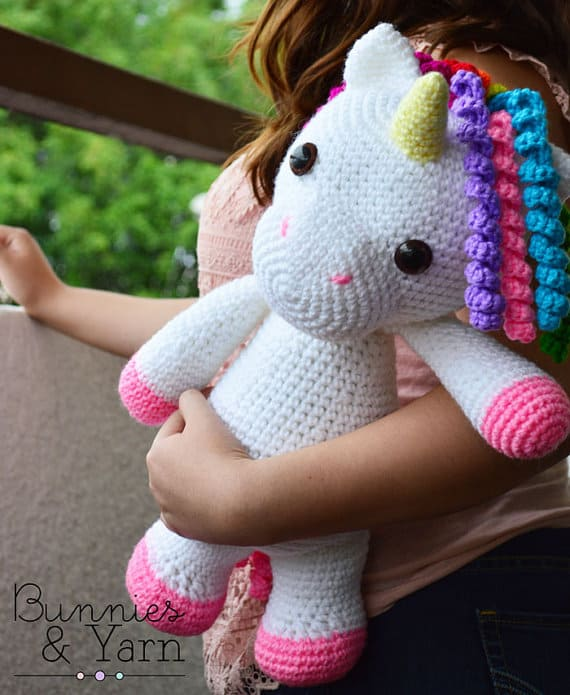 The Cutest Collection Of Unicorn Crochet Patterns The WHOot Fascinating Unicorn Crochet Pattern