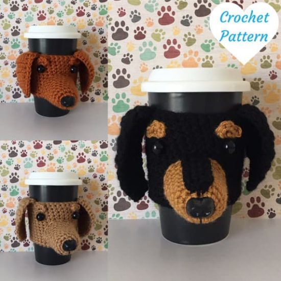 Amigurumi Dachshund amigurumi tutorial – Amigurumi Patterns | 550x550