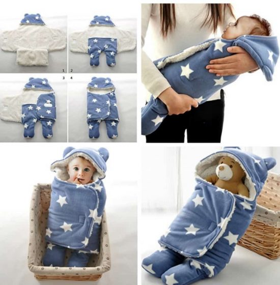Baby Swaddle Star Blanket