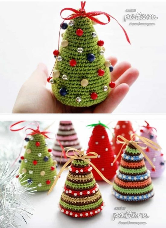 Christmas Crochet Tree Pattern
