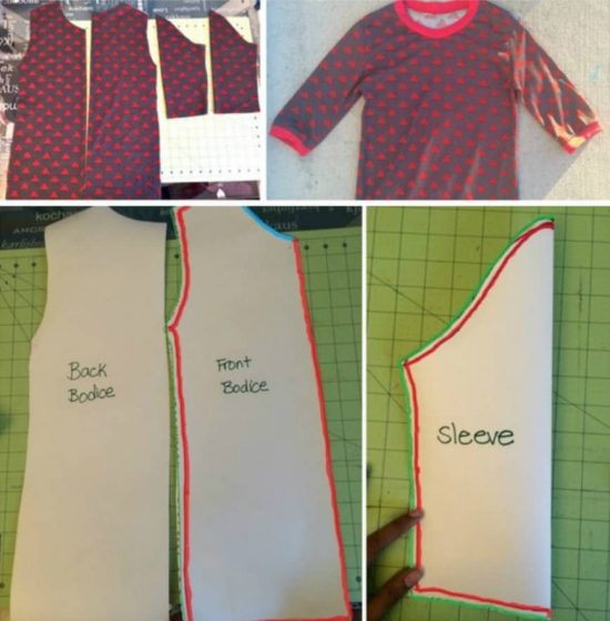 Create Patterns From Existing Clothes