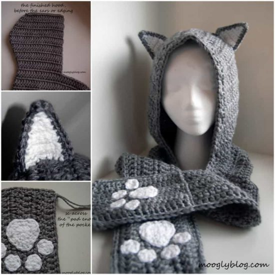 Crochet Animal Scoodie Pattern The WHOot