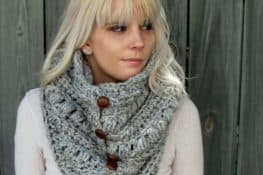 Crochet Button Up Cowl Pattern Great Ideas