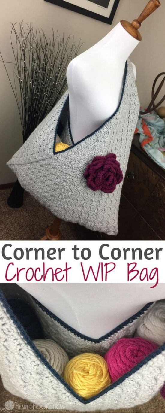 Crochet Storage Bag