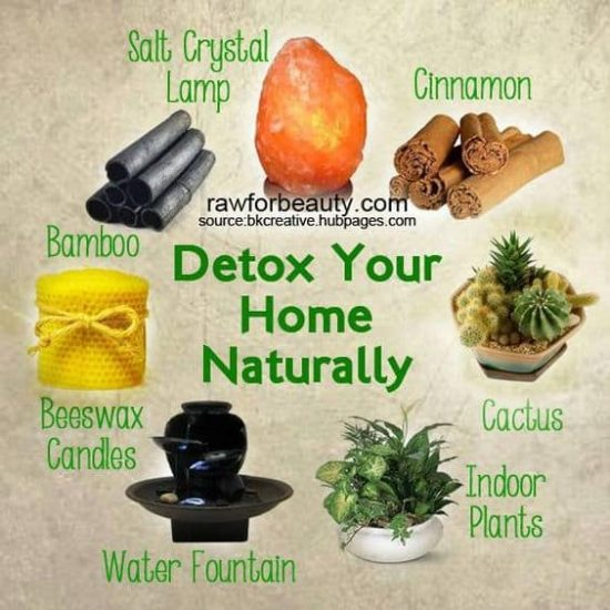 Detox your room naturally with a Himalayan Salt Lamp