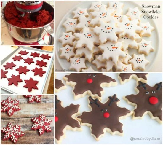Snowflake Cookies Royal Icing Recipe The WHOot