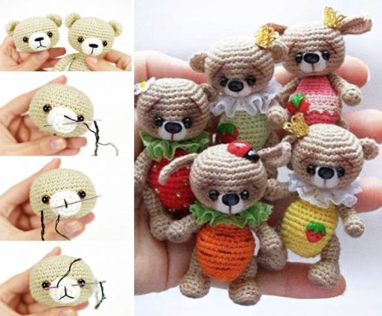 Tiny Teddy Crochet