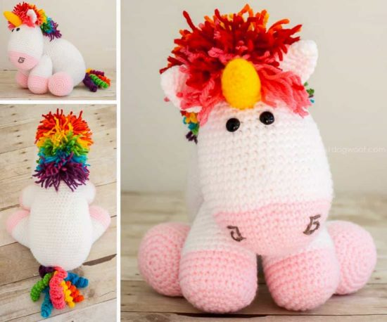 Super Cute Unicorn Crochet Patterns | The WHOot