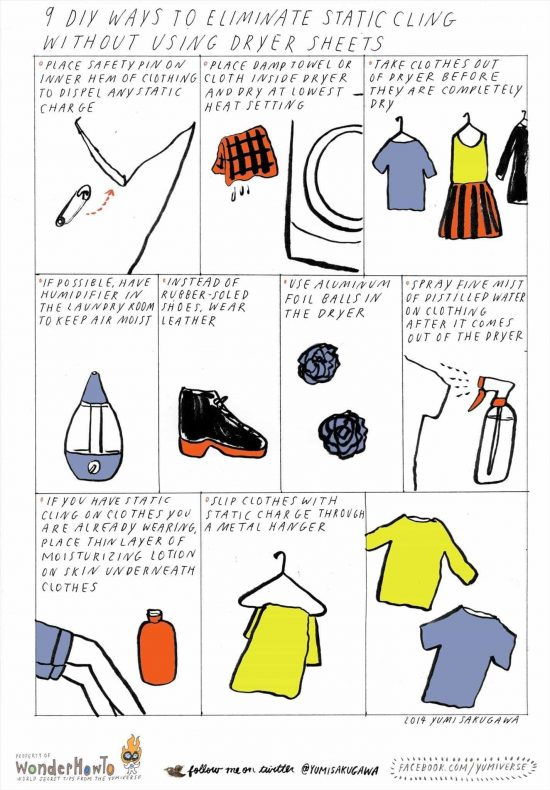 9 Ways To Reduce Static Cling
