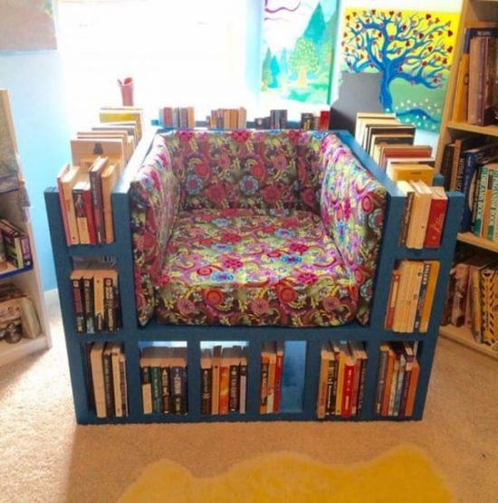Bookshelf Chair Plans