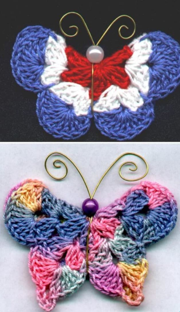 Crochet Butterfly Pattern The WHOot