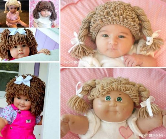Crochet Cabbage Patch Hats Pattern Video Tutorial