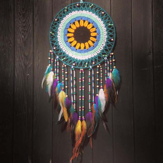 Crochet Dream Catcher Mandala