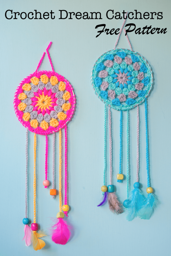 Crochet Dream Catchers Free Patterns