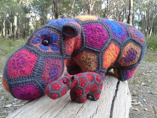 Crochet Hippo Pattern Ideas