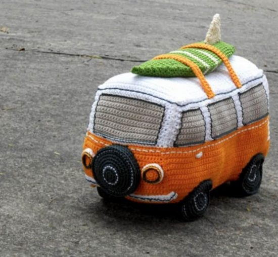 Crochet Volkswagen Bus Pattern