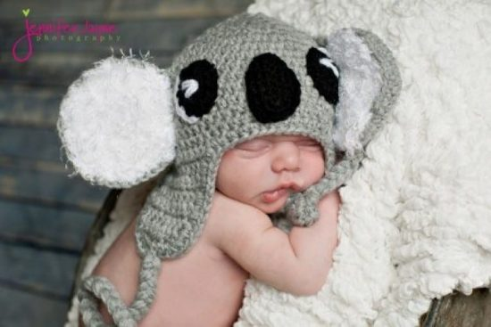Cute Baby Animal Crochet Hats