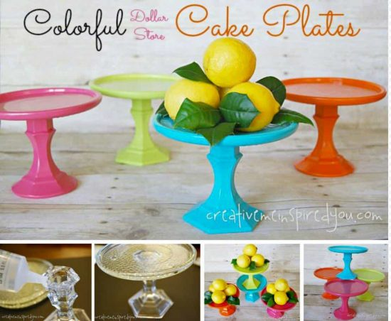 how to make a ball cake stand