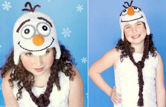 Frozen Crochet Pattern Olaf Hat