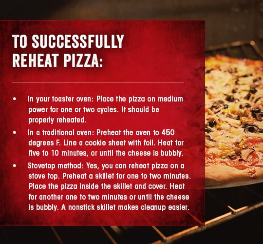 How To Reheat Pizza