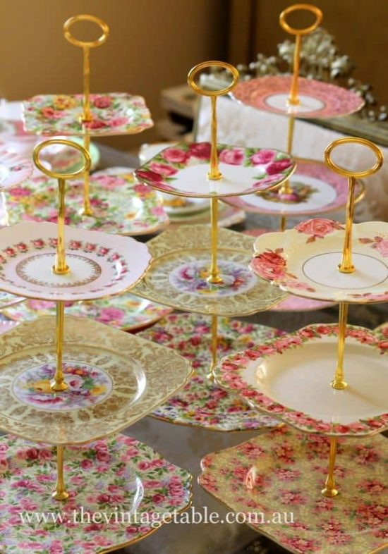 Plate Cake Stand