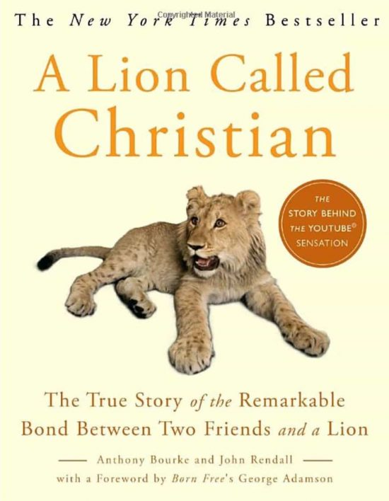 A Lion Called Christian Book