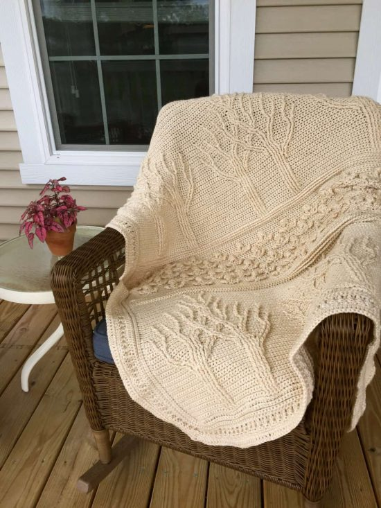 Tree of Life Crochet Afghan Pattern