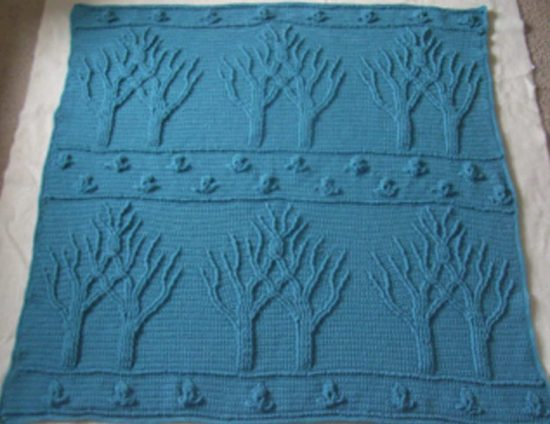Tree Of Life Crochet Afghan Is A Fabulous Free Pattern | The