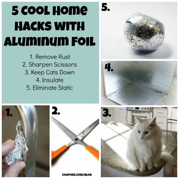 aluminum foil hacks will amaze you watch the video