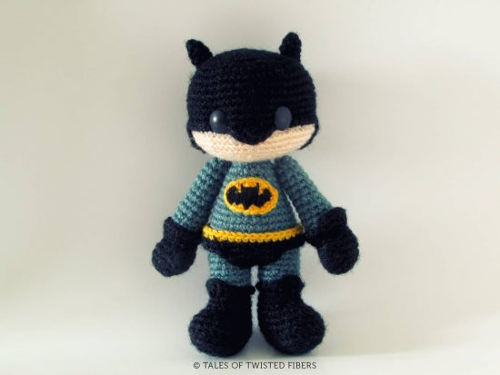 Batman Amigurumi Doll