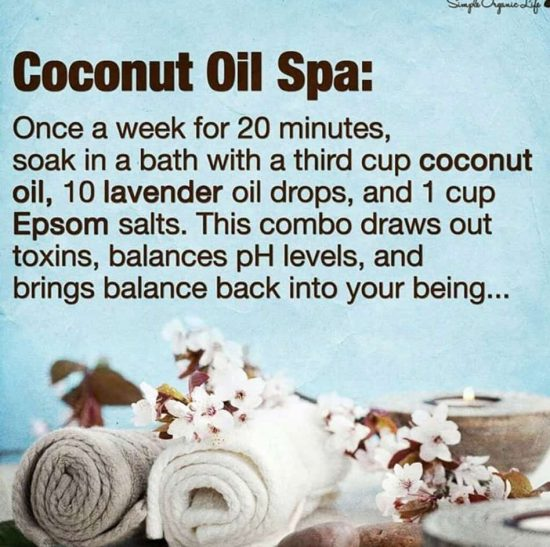 Coconut Oil Spa