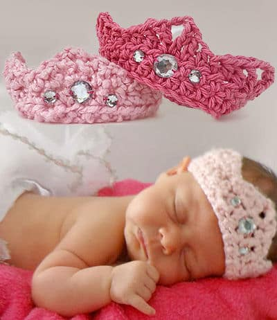Crochet Baby Crown Pattern Free