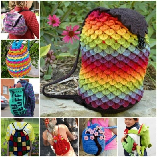 Crochet Backpack Bag Pattern All The Very Best Ideas