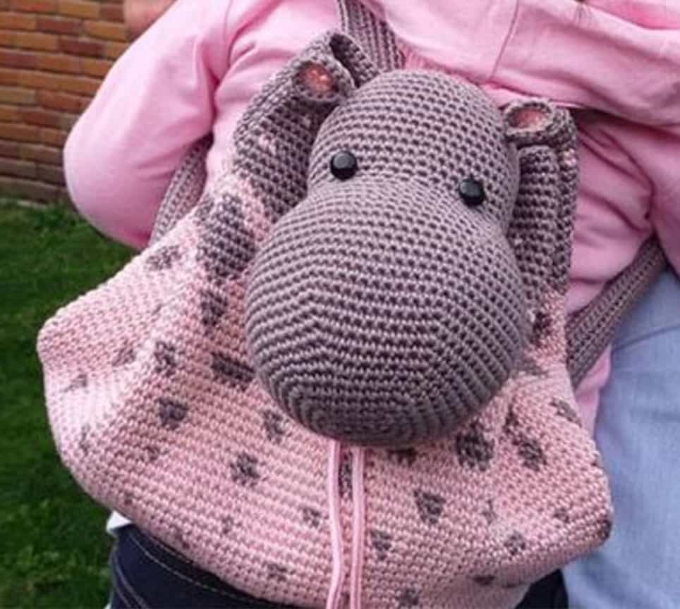 the best collection of crochet backpack bag patterns