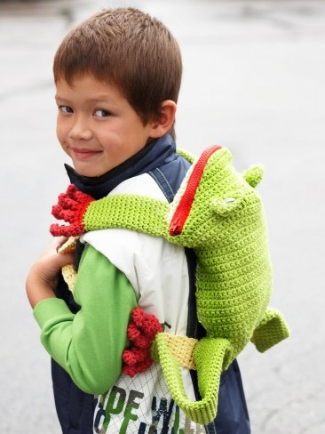 Crochet Backpack Bag Pattern
