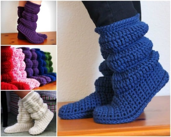 Crochet Slouch Boots Pattern Is A Must Make The WHOot Simple Crochet Boot Pattern