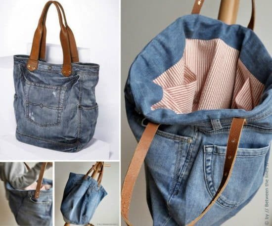 Denim Jeans Bag Pattern
