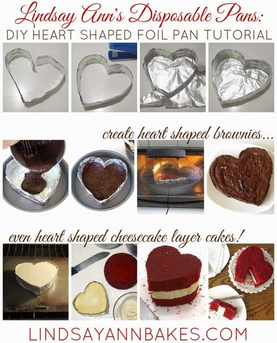 Foil Shaped Baking Pans