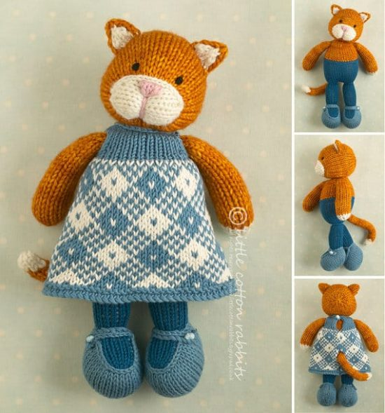 Knitted Cats Patterns