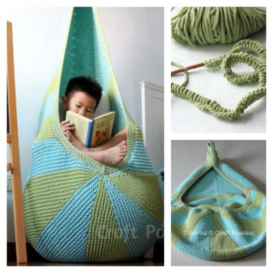 Knitted Hanging Chair