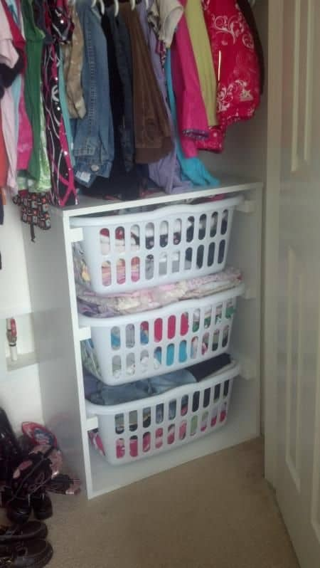 Laundry Storage Idea