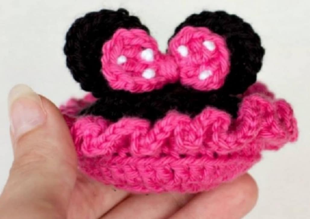 Minnie amigurumi tutorial - YouTube | 726x1028