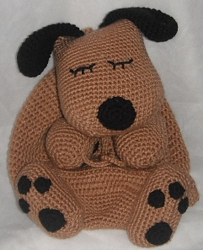 Puppy Back Pack Bag Pattern