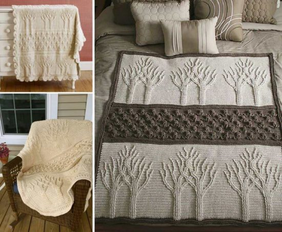 Tree Of Life Crochet Afghan Is A Fabulous Free Pattern The Whoot